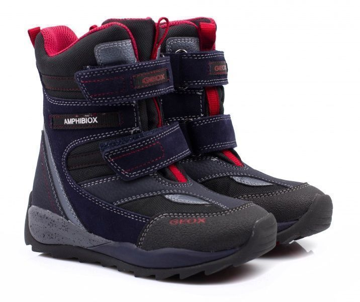 Ботинки детские Geox ORIZONT BOY ABX XK5046 примерка, 2017