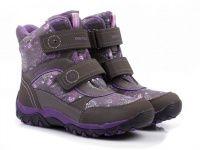 Серые ботинки Для девочек, фото, intertop