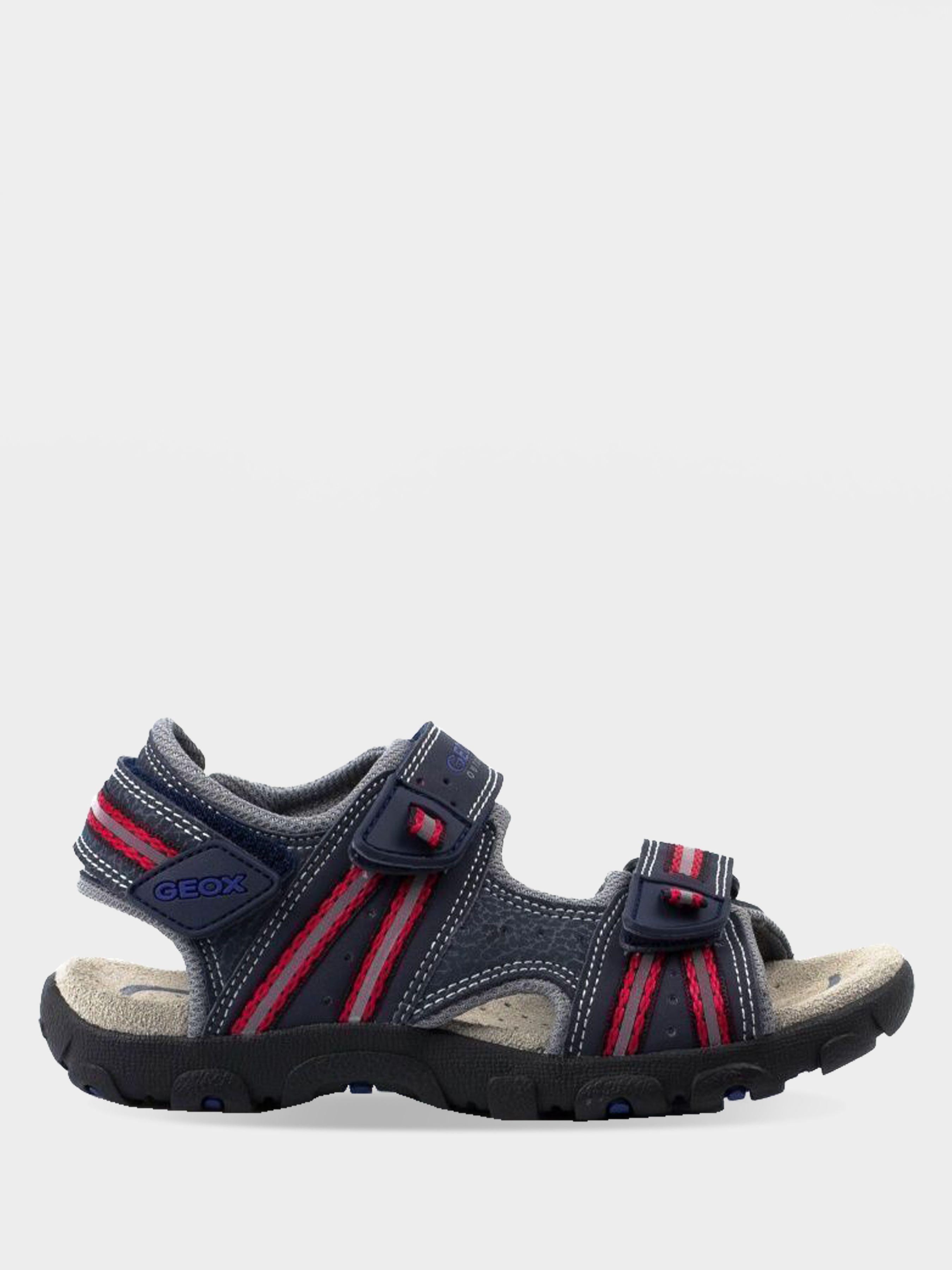 Сандалии для детей Geox J S.STRADA A - PRINT.DBK+MESH XK5177 размеры обуви, 2017