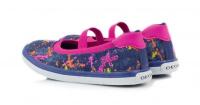 Балетки  для дітей Geox KIWIGIRL J52D5D-000SB-C4237 модне взуття, 2017