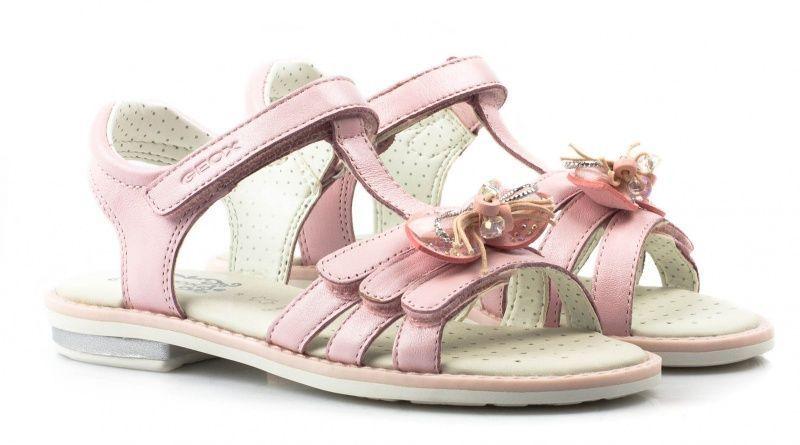 Сандалии детские Geox GIGLIO XK5216, Розовый  - купить со скидкой