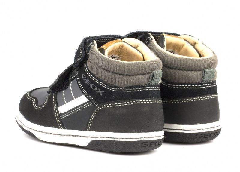 Ботинки для детей Geox B FLICK B. C - WAX.LEA+GBK XK5402 размеры обуви, 2017