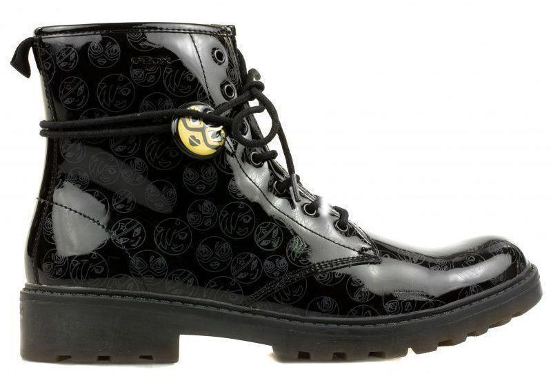 Купить Ботинки детские Geox J CASEY G. K - PRINT.SYNT.PAT XK5430, Черный