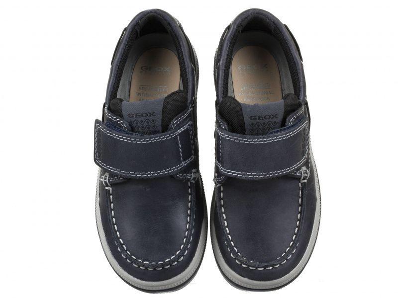 Напівчеревики  для дітей Geox J ELVIS E - WAX.LEA+TEXTILE J64A4E-0CL11-C0045 ціна взуття, 2017