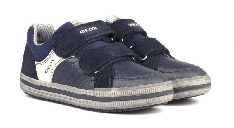 Купить Полуботинки детские Geox J ELVIS F - GBK+SUEDE XK5465, Черный