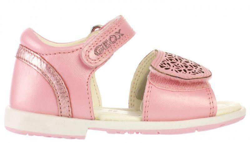 Купить Сандалии для детей Geox B SAN.VERRED B - PRL.LE+ME.SHE XK5537, Розовый
