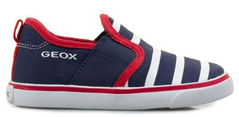 Купить Cлипоны детские Geox B KIWI B. J - CANVAS+NAPPA XK5549, Синий