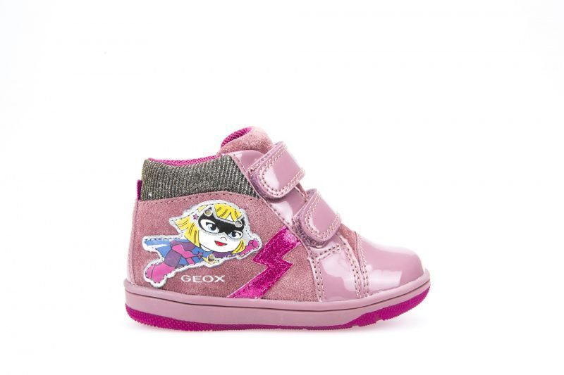 Ботинки для детей Geox B NEW FLICK GIRL XK5670 примерка, 2017