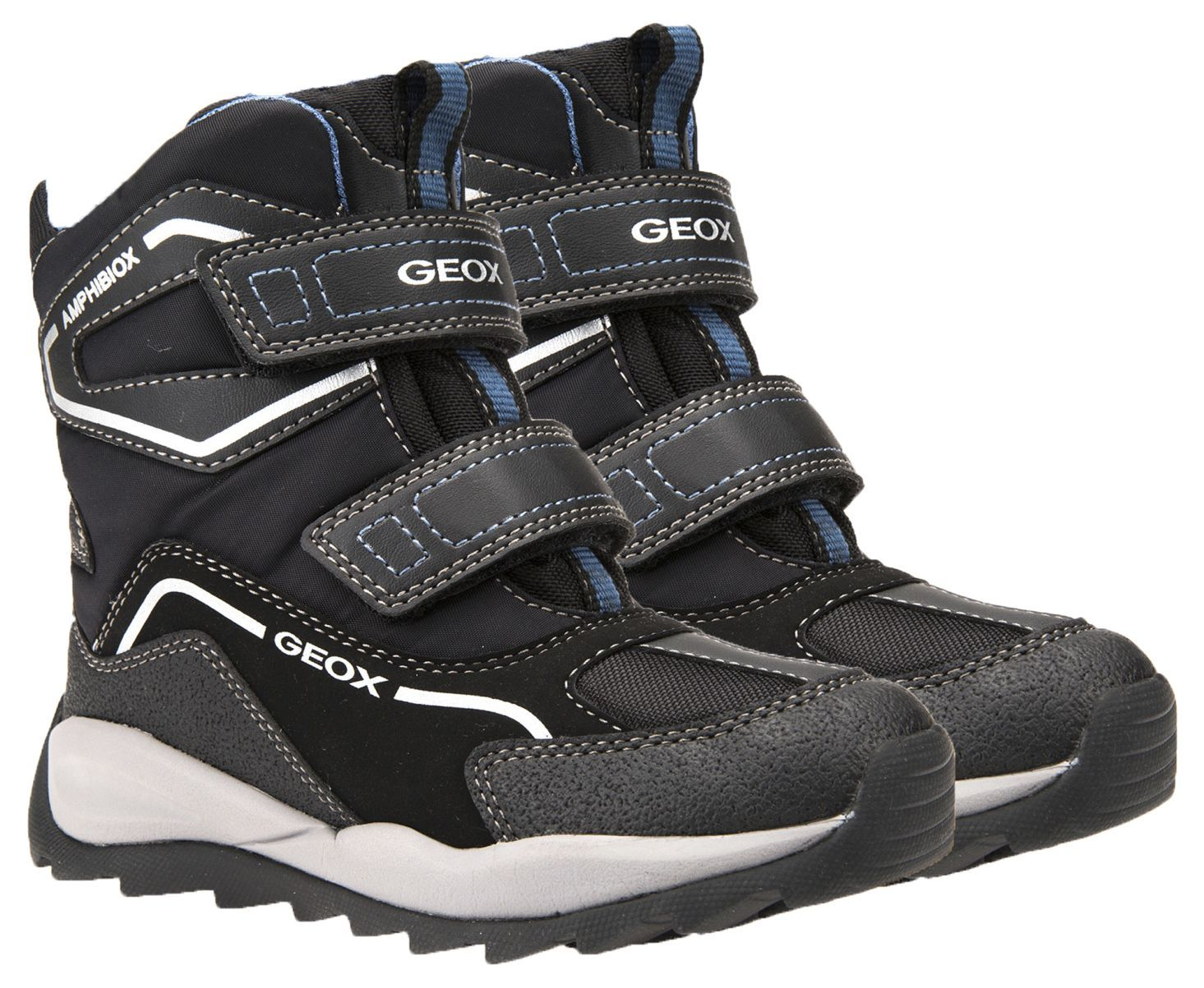 Сапоги детские Geox J ORIZONT BOY ABX XK5684 размеры обуви, 2017