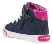 Ботинки для детей Geox B KILWI G. B - JEANS+GBK PERL B82D5B-013AJ-C4435 смотреть, 2017