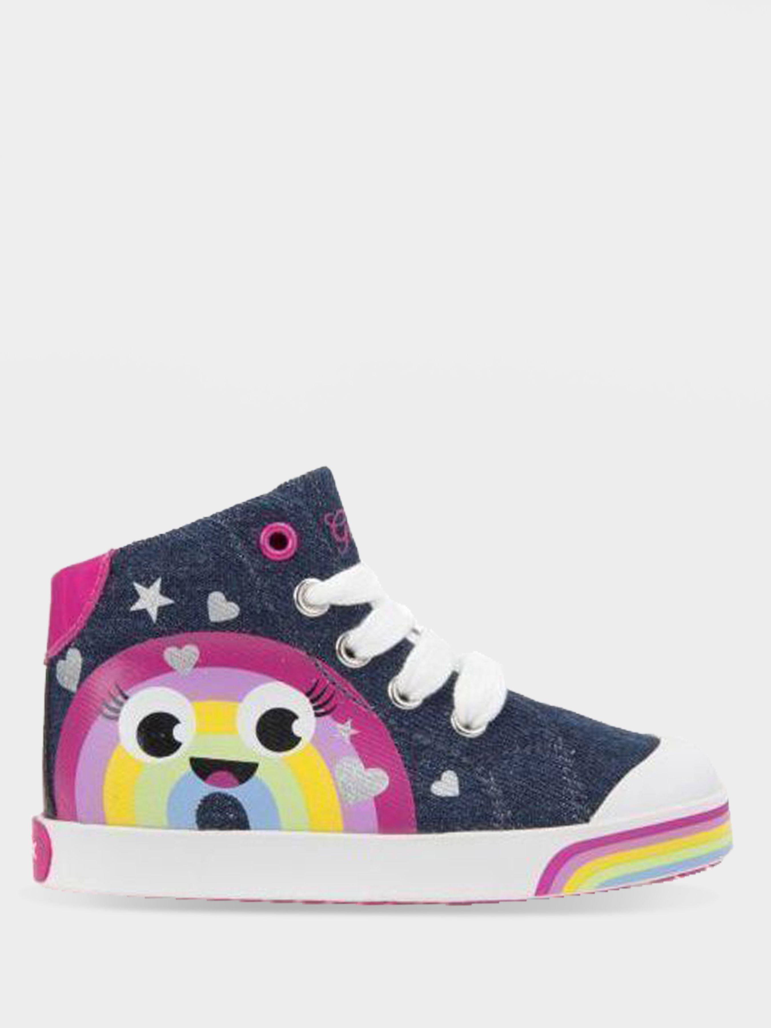 Ботинки для детей Geox B KILWI G. B - JEANS+GBK PERL XK5732 размерная сетка обуви, 2017