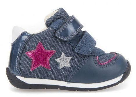 Ботинки для детей Geox B EACH G.E - TELA GLI+VE.SI.ME XK5734 цена, 2017