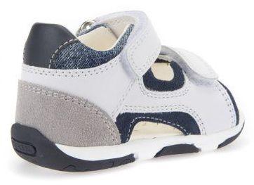 Сандалии для детей Geox B S.TAPUZ B. C - NAPPA+SCAM. XK5739 брендовая обувь, 2017