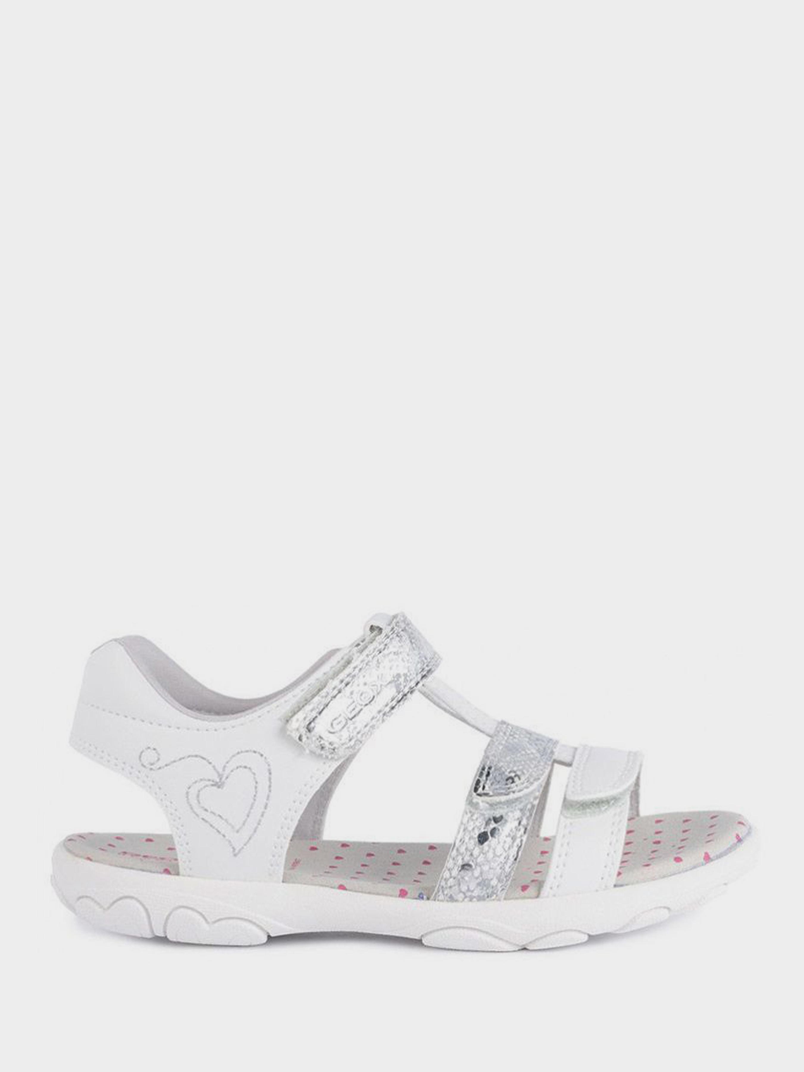 Сандалии для детей Geox J S.CUORE A - SIN.PER+SI.BR.ST XK5754 брендовая обувь, 2017