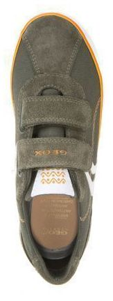 Полуботинки детские Geox J KILWI B. I - TELA+SCAM. XK5780 размерная сетка обуви, 2017