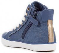 Ботинки детские Geox J KILWI G. C - JEANS PERL. J82D5C-000ZD-C4005 обувь бренда, 2017