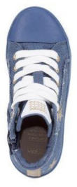 Ботинки детские Geox J KILWI G. C - JEANS PERL. J82D5C-000ZD-C4005 купить в Украине, 2017