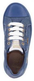 Полуботинки детские Geox J KILWI G. D - JEANS PERL. XK5783 брендовая обувь, 2017