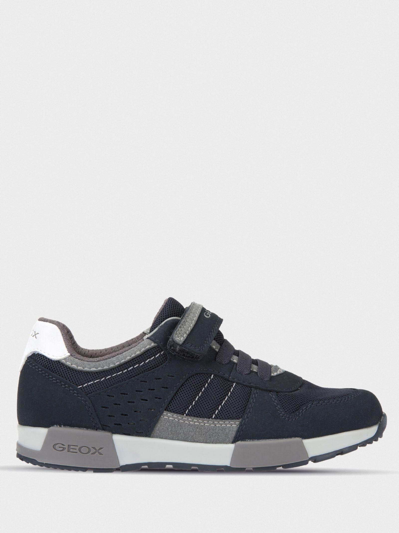 Кроссовки для детей Geox J ALFIER B. A - MESH+SCAM.SIN XK5799 брендовая обувь, 2017