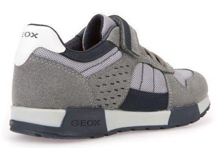 Кроссовки для детей Geox J ALFIER B. A - MESH+SCAM.SIN XK5800 примерка, 2017