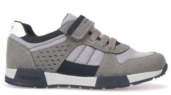 Кроссовки для детей Geox J ALFIER B. A - MESH+SCAM.SIN XK5800 брендовая обувь, 2017