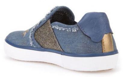 Слипоны детские Geox J KILWI G. E - JEANS PERL. J82D5E-000ZD-C4005 обувь бренда, 2017