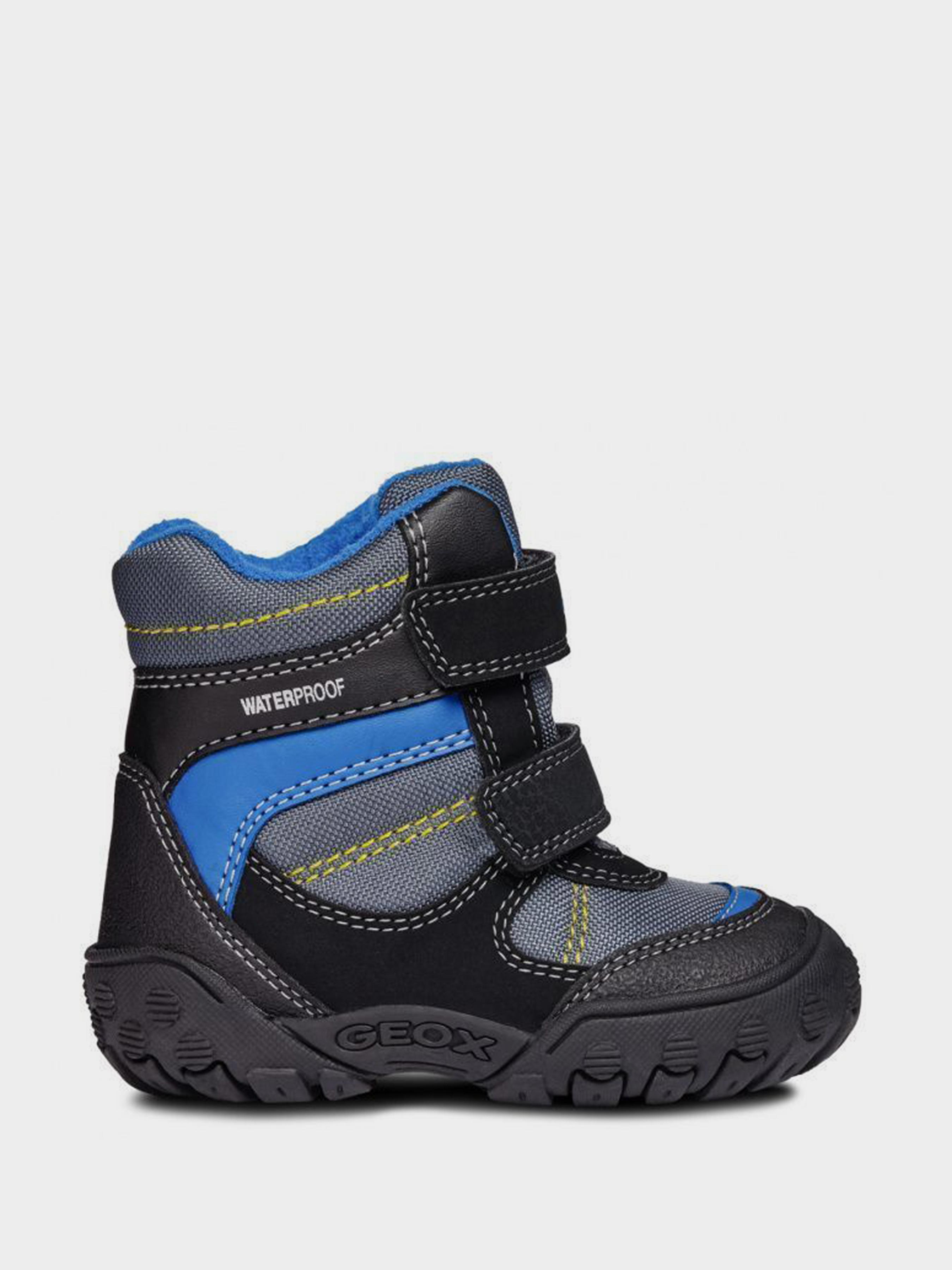 Купить Ботинки детские Geox B GULP BOY B WPF XK5856, Черный