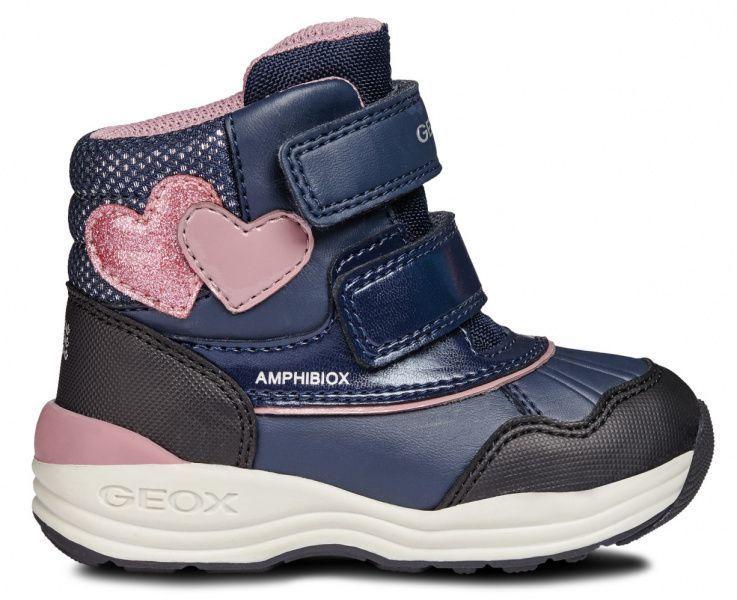 Купить Ботинки детские Geox B NEW GULP GIRL B AB XK5858, Синий