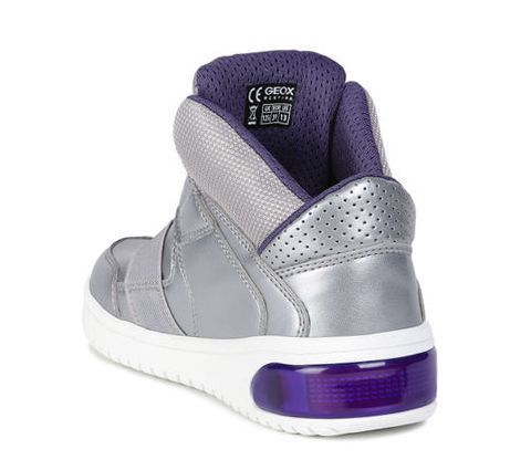 Кроссовки детские Geox J XLED GIRL XK5976 размеры обуви, 2017