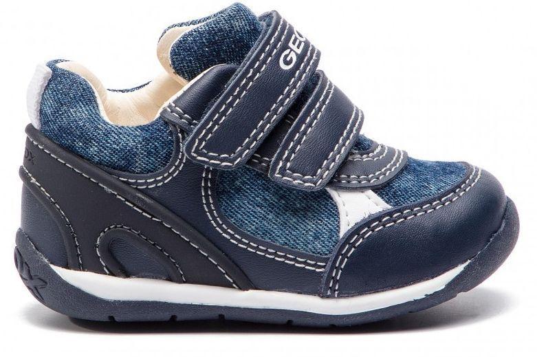 Купить Ботинки детские Geox B EACH BOY XK6074, Синий