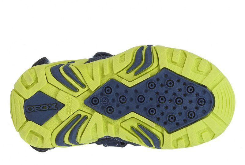 Сандалии для детей Geox B SANDAL KRAZE B9224A-01550-C0749 размерная сетка обуви, 2017
