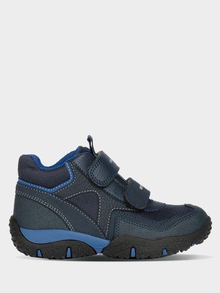 Купить Ботинки детские Geox J BALTIC BOY B WPF XK6340, Синий