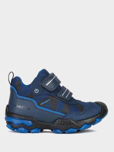 Купить Ботинки детские Geox J BULLER BOY B ABX XK6458, Синий