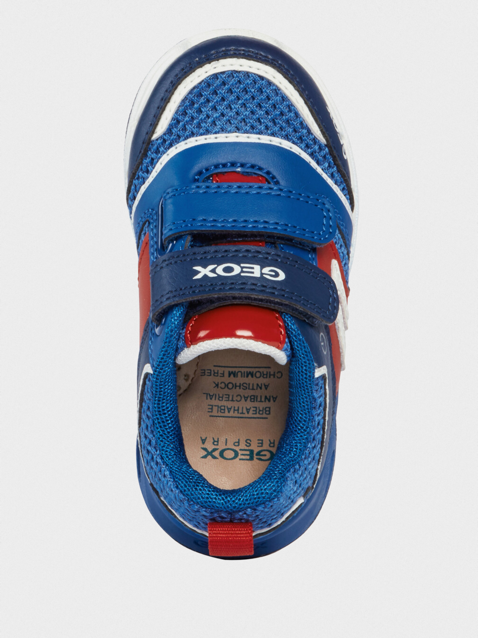 Кросівки  для дітей Geox B DAKIN BOY B022PA-01454-C0833 розмірна сітка взуття, 2017