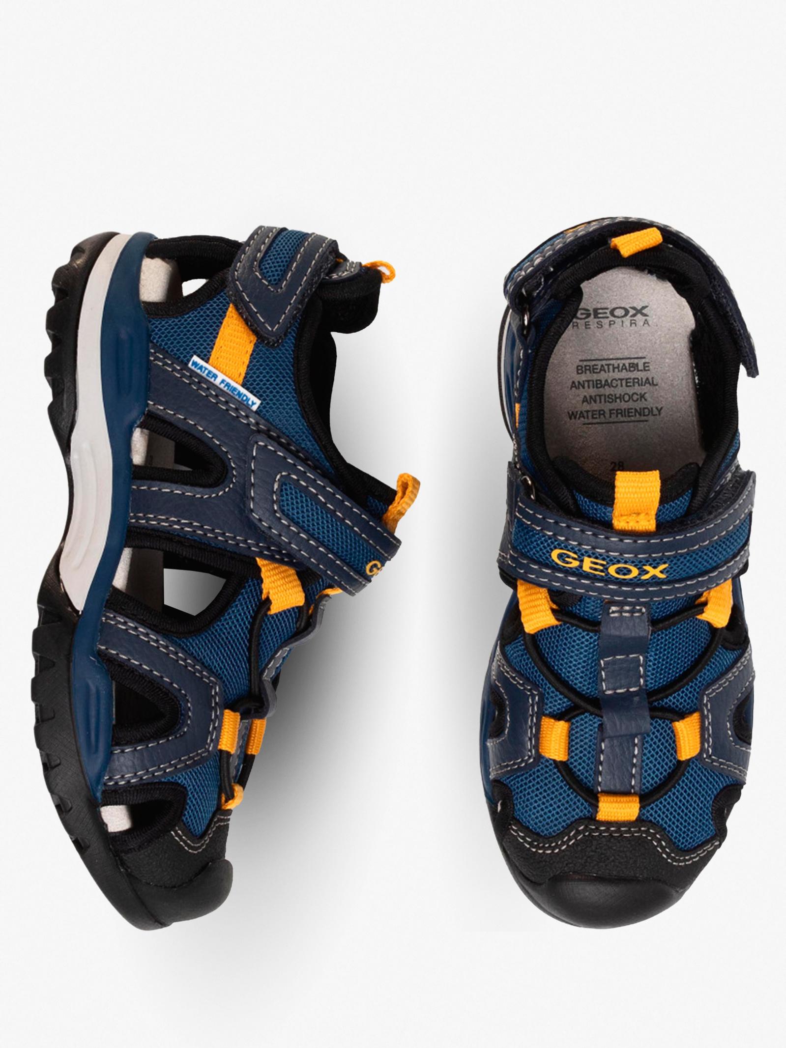 Сандалии детские Geox J BOREALIS BOY J020RA-014ME-C4229 размерная сетка обуви, 2017