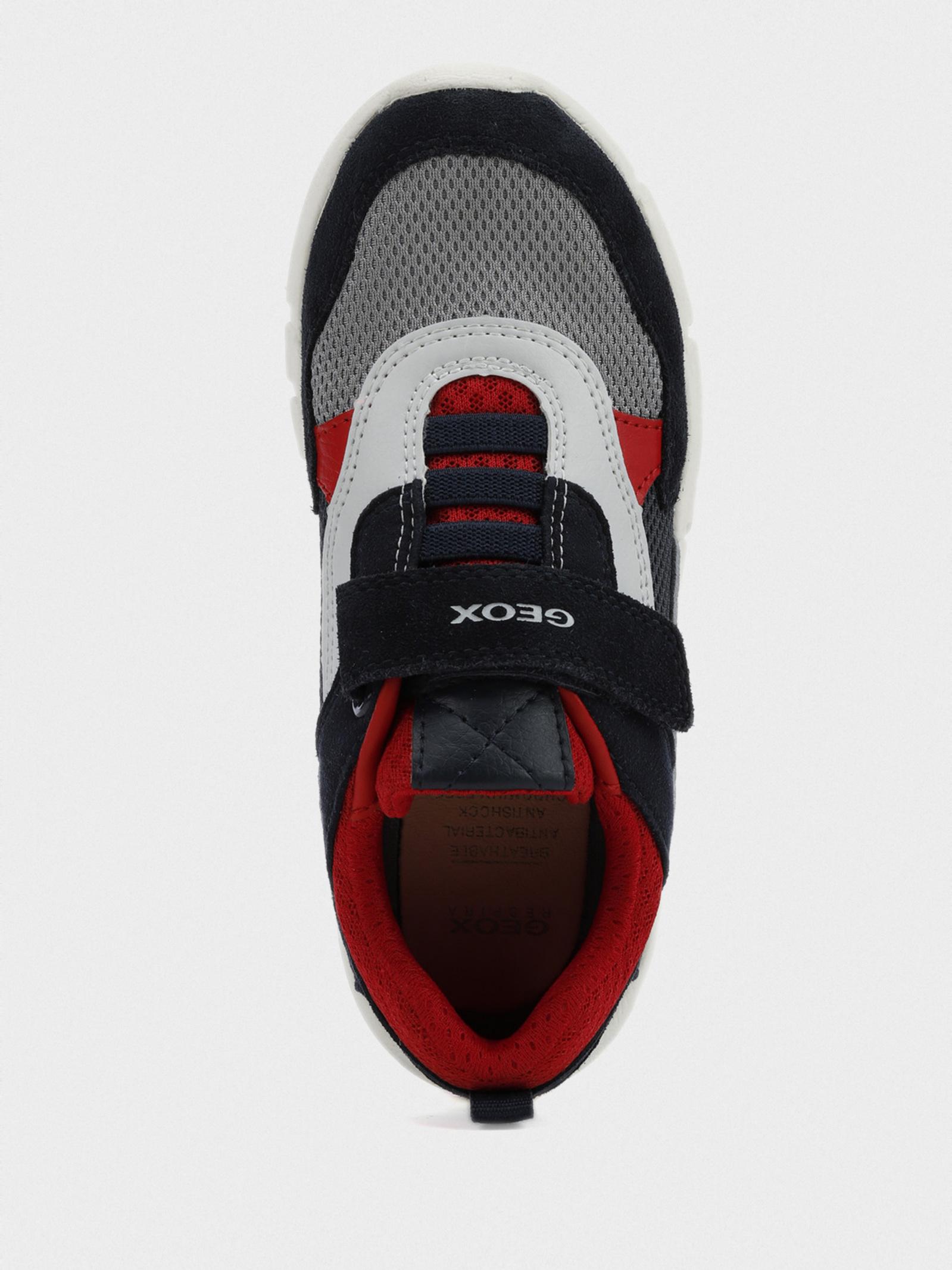 Кроссовки детские Geox J FLEXYPER BOY J029BD-01422-C0735 размерная сетка обуви, 2017