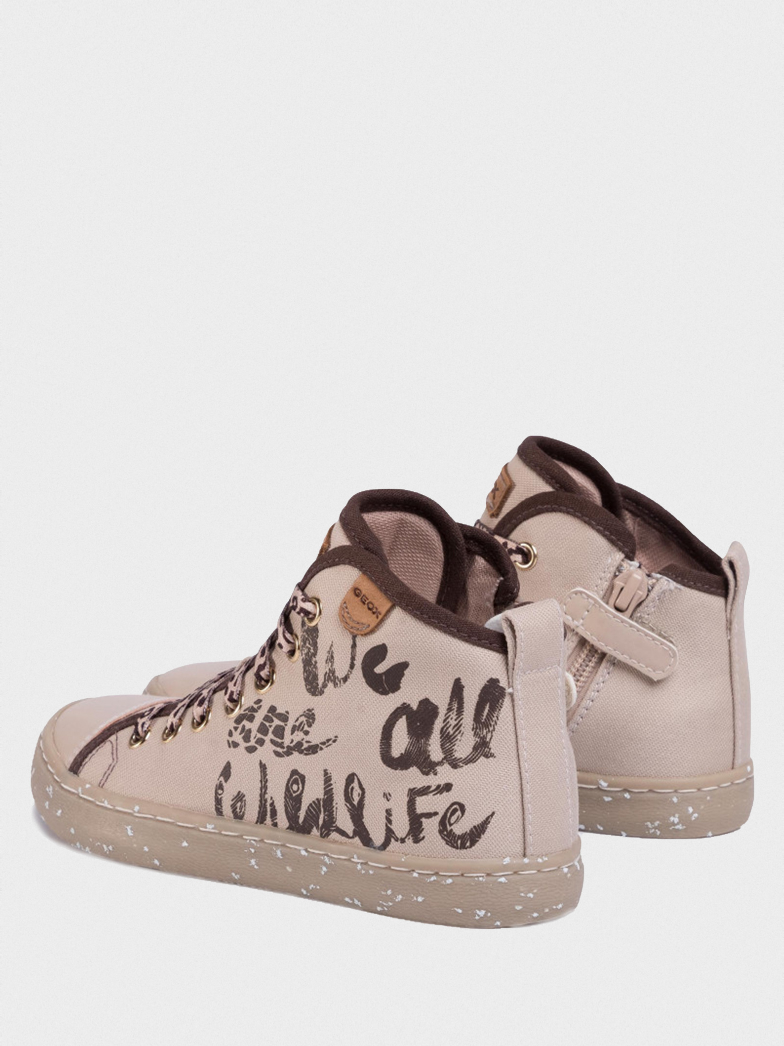 Ботинки детские Geox JR KILWI GIRL J02D5F-000ZB-C5000 брендовая обувь, 2017