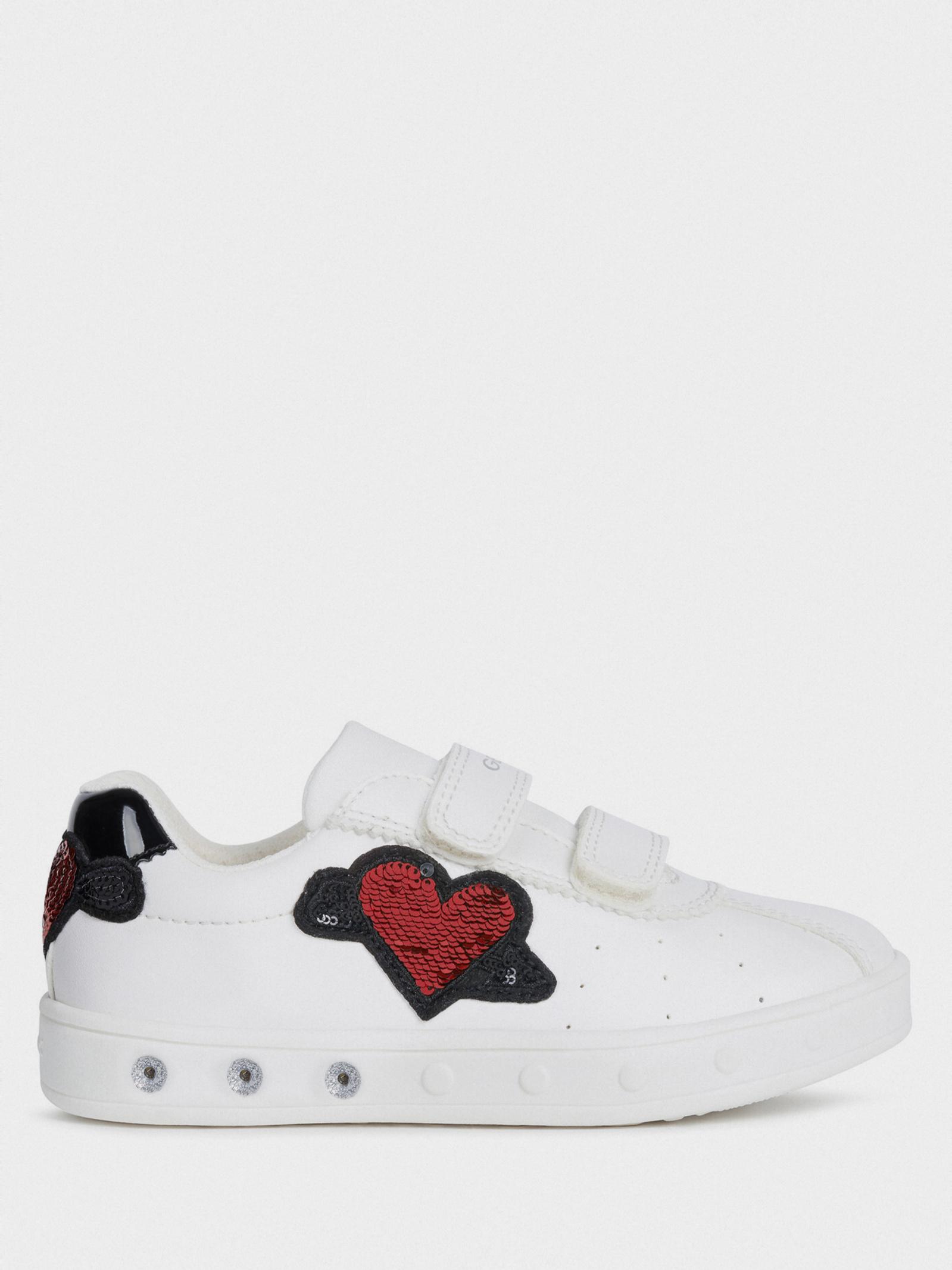 Напівчеревики  дитячі Geox J SKYLIN GIRL J928WC-000BC-C1000 розмірна сітка взуття, 2017