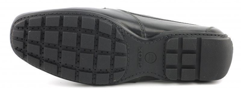 Мокасины мужские Geox U MONET V - SMOOTH LEATHER XM1008 размерная сетка обуви, 2017