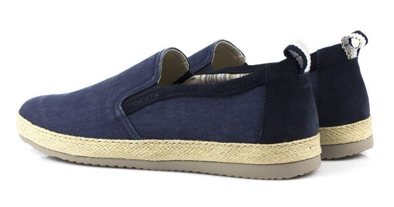 Cлипоны для мужчин Geox U COPACABANA B - WASH.CANVAS XM1548 брендовая обувь, 2017