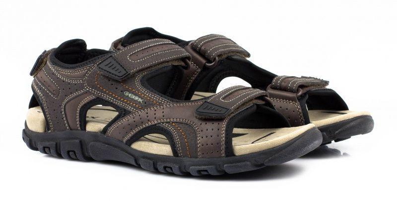 Сандалии для мужчин Geox U S.STRADA A - SYNT.LEA+DBK XM1586 размеры обуви, 2017