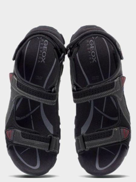 Сандалии мужские Geox U S.STRADA WF C - SCAM.SIN+DBK XM1588 брендовая обувь, 2017