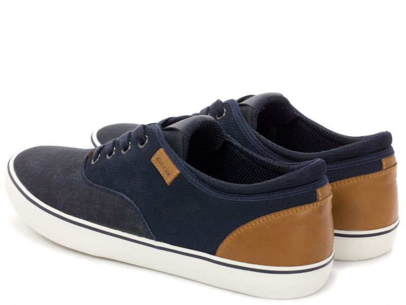 Кеды для мужчин Geox U SMART B - SUEDE+WASH.CANVAS XM1706 размерная сетка обуви, 2017
