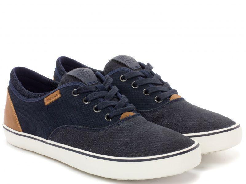 Кеды для мужчин Geox U SMART B - SUEDE+WASH.CANVAS XM1706 брендовая обувь, 2017