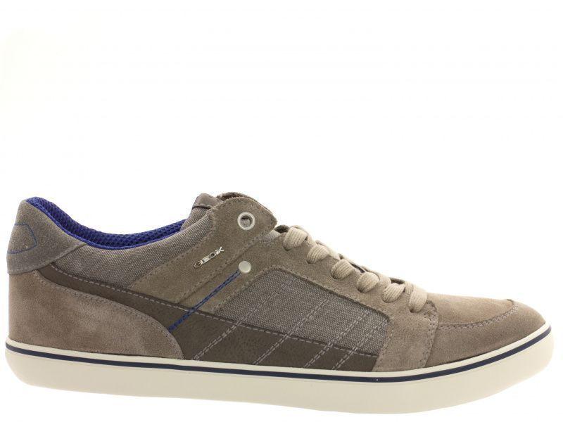 Полуботинки для мужчин Geox U BOX F - SUEDE+WASH.CANVAS XM1714 брендовая обувь, 2017