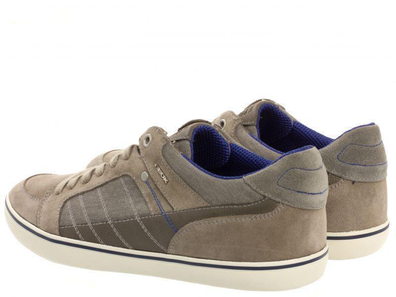 Полуботинки для мужчин Geox U BOX F - SUEDE+WASH.CANVAS XM1714 обувь бренда, 2017