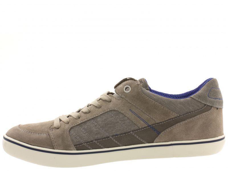 Полуботинки для мужчин Geox U BOX F - SUEDE+WASH.CANVAS XM1714 размерная сетка обуви, 2017