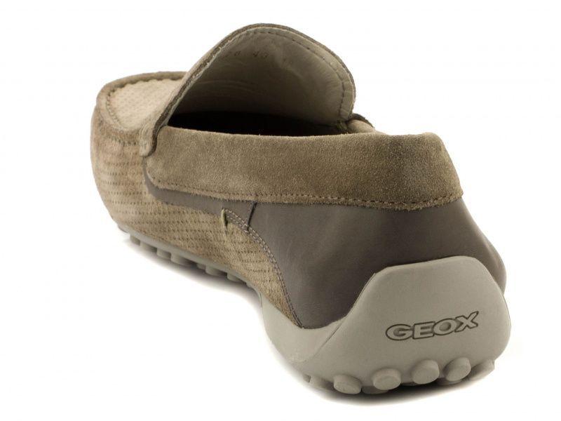 Мокасины для мужчин Geox U SNAKE MOC G - PRN SUE+SM.LEA XM1716 брендовая обувь, 2017
