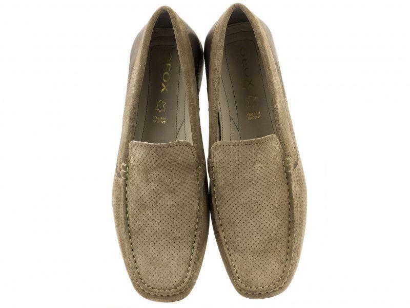Мокасины для мужчин Geox U SNAKE MOC G - PRN SUE+SM.LEA XM1716 обувь бренда, 2017