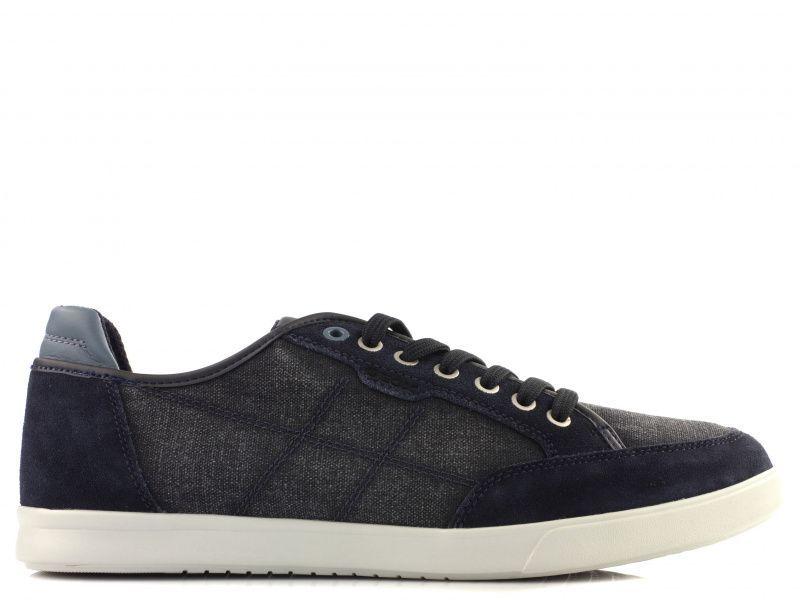 Полуботинки мужские Geox U WALEE A - WASH.CANVAS+SUEDE XM1721 брендовая обувь, 2017